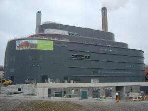 La centrale de cogénération de Värtahamnen.